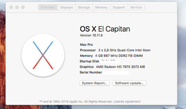 Mac Pro Sapphire HD 7970 3GB